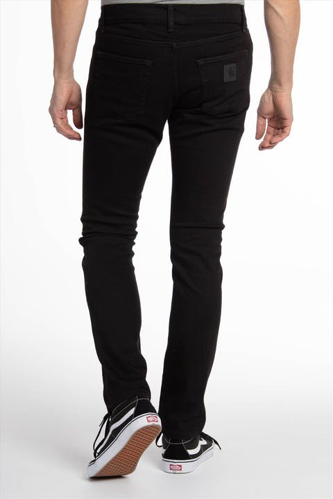 Zwarte Rebel Pant slim tapered jeans