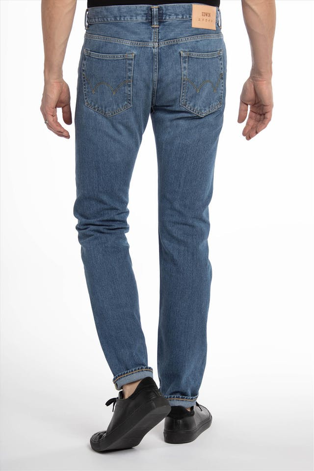 Blauwe ED-80 slim tapered jeans
