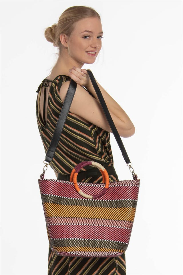 Multicolour Nualienta shopper